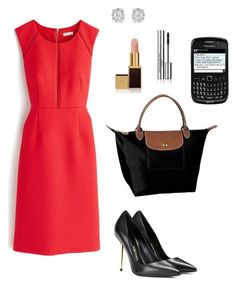 """Anastasia Steele - Work, Drinks with Jose & """"Charlie Tango"""" goes missing by ohmyfifty on Polyvore"""