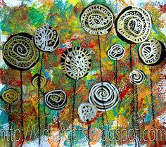 Lollipop Trees Art Lesson In The Style of Hundertwasser