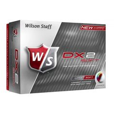 Wilson DX2 Soft golf balls