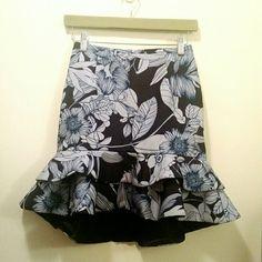 NWT Floral Keepsake tulip skirt Beautiful and girly floral printed skirt by Keepsake. New with tags. Keepsake Skirts