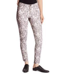 Ella Moss Printed Skinny Jeans in Snake Gardenia Combo Women - Bloomingdale's Printed Skinny Jeans, Mid Rise Skinny Jeans, Denim Skinny Jeans, Super Skinny Jeans, Skinny Fit, Snake Print Pants, Rose Jeans, Ella Moss, Juniors Jeans