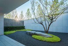 Suzhou Cifi Metropolis Shangpin Garden by Antao Group – mooool Urban Landscape, Landscape Design, Garden Design, Atrium Design, Chinese Garden, Modern Japanese Garden, Suzhou, Garden Architecture, Exterior Design