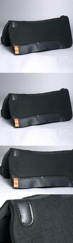 Saddle Pads 183377: New Wool Felt Neoprene Base Shock Absorbent Horse Saddle Pad Tack 1 32X32 Black -> BUY IT NOW ONLY: $68.95 on eBay!