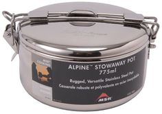 MSR Alpine Stowaway Pot 775ml -- You can get more details by clicking on the image.Note:It is affiliate link to Amazon. #culturegram