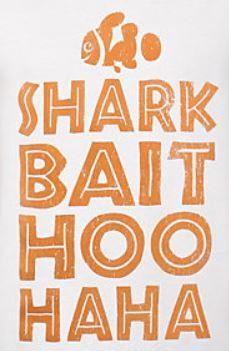 Shark Bait Hoo Haha Disney Finding Nemo