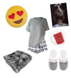 """lazy day"" by evey0529-chillin ❤ liked on Polyvore featuring Tommy Hilfiger, Victoria's Secret and Throwboy"