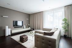 hotel vorobyovy 7 Minimalist Apartment With a Strong Design Rhythm by Alexandra Fedorova