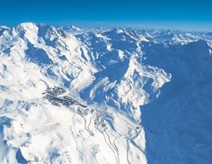 Val Thorens, Alps, France - my first skiing experience, wonderful.