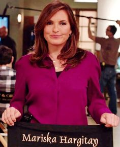 I love Mariska Hargitay aka Olivia Benson on Law and Order SVU