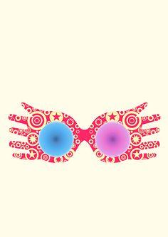 """Spectrespecs"" Luna Lovegood Glasses Harry Potter on Behance"