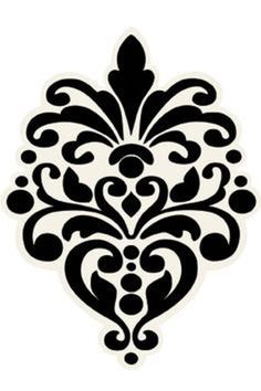 8 Best Images of Free Printable Wall Stencils Damask - Free Damask Stencil Printable Template, French Damask Stencil and Large Wall Damask Stencil Pattern Printable Stencil Patterns, Wall Stencil Patterns, Stencil Templates, Templates Printable Free, Stencil Designs, Printable Wall Art, Damask Patterns, Stencil Wall Art, Damask Stencil