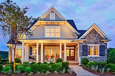 Craftsman Style House Plan - 4 Beds 5.5 Baths 3878 Sq/Ft Plan #927-5