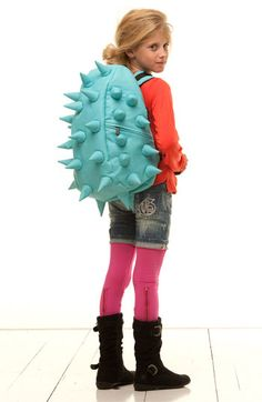 Dinosaur Backpack. for my girl who is in fact 1/4 tyrannosaurus xo