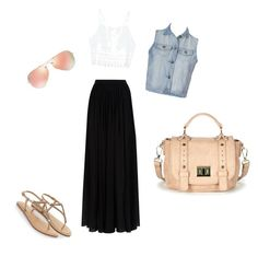 """""""Untitled #5"""" by mahogany-me3 ❤ liked on Polyvore featuring Elie Saab, Ally Fashion, Ray-Ban, Accessorize, Sole Society, women's clothing, women, female, woman and misses"""