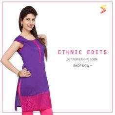 Go Ethnic Edit.   #shopperholic #fashion #womenswear shopperholic.in Shop Latest Trendy Cool Fashion Trends Shop Now!