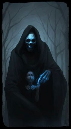 Touch Of Death - Nigel Quarless Dark Fantasy Art, Dark Art, Fantasy Demon, Grim Reaper Art, Don't Fear The Reaper, Angel Of Death, Dark Gothic, Gothic Art, Touch Of Death