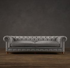 "98"" Kensington Upholstered Sofa I would be all over that funky looking friend!"