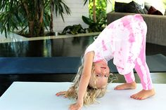 Om at Home: The Gift of Introducing Kids to Yoga | via The Honest Company Blog
