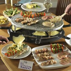 Swan Come Dine With Me Stone Raclette More