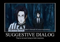 Black Butler Funny Demotivational Posters | Register Help