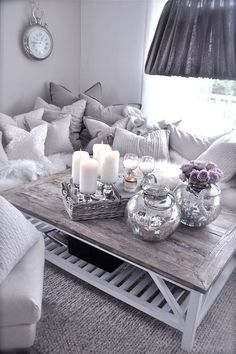 Gray Living Room cozy modern living room interior design contemporary couches home decorating apartment decorating small spaces: