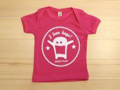 "gagamu Babyshirt ""love hugs"" pink"