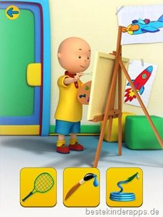 Talking Caillou App Kinder (16)