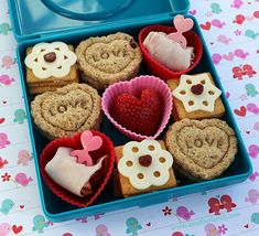 Box of Chocolates Valentine Bento