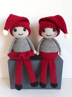 Crochet ideas that you'll love Christmas Toilet Paper, Felt Christmas, Diy Christmas Gifts, Crochet Toys Patterns, Stuffed Toys Patterns, Drops Design, Toilet Paper Roll Crafts, Christmas Mason Jars, Handmade Ornaments