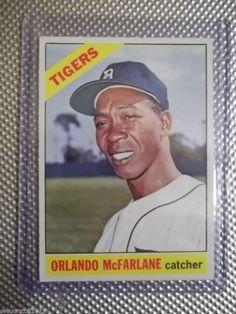 1966 Topps #569 - Orlando McFarlane - SP (high#) - Detroit Tigers