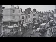 Brighton Uk, Brighton Sussex, Old Images, Old Pictures, Old Photos, Town Drawing, Old Postcards, Seaside, England