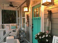 Coastal Farmhouse, Coastal Homes, Ocean Isle Beach, Beach House, Decorating Ideas, Outdoor Decor, Home Decor, Cottages By The Sea, Beach Homes