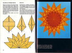 1000 bilder zu origami mit zauberhaften sterne auf. Black Bedroom Furniture Sets. Home Design Ideas