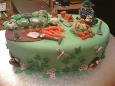 Inspiring garden cake ideas Photo Award-Winning Gardens Amazing design ideas Fro… - All For Garden Creative Birthday Cakes, 80 Birthday Cake, Diy Backyard Improvements, Cake Decorating Piping, Diy Dresser Makeover, Garden Cakes, Diy Pipe, Photo Awards, Cake Pictures