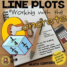 LINE PLOTS RECENT UPDATE: 6/30/2016* More cute clip-art and student friendly font.* File with Australian/UK Spelling and mathematical terminology included.*************************************************************************This 62 page comprehensive unit on Line Plots covers all key Mathematical concepts and strategies to collate and display data in fractions of a unit using interactive materials like visual cards, dice, spinners and real-life data.