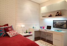 Trendy Bedroom Ideas For Teen Girls Small Rooms Children Dream Bedroom, Home Bedroom, Bedroom Decor, Bedrooms, Bedroom Ideas For Teen Girls Small, Tween Girls, Teenage Room, Interior Design Magazine, Small Rooms