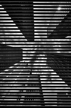 40th PARALLELS - Black and white New York City Manhattan skyscraper architecture 12x18 fine art photography print living room wall decor.