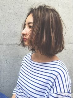 Ideas for hair bob medium highlights Hight Light, Light Purple Hair, Bob Hair Color, Medium Hair Styles, Long Hair Styles, Shot Hair Styles, Hair Arrange, Chic Hairstyles, Mid Length Hair