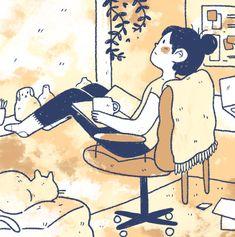 Cartoon Drawings, Cartoon Art, Cute Drawings, Japon Illustration, Cute Illustration, Character Art, Character Design, Arte Indie, Cute Art Styles