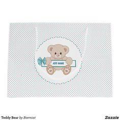 Teddy Bear Large Gift Bag