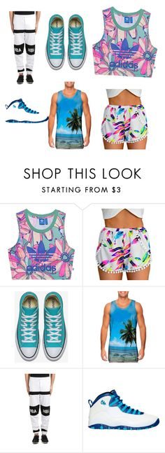 """Untitled #29"" by aja-cats ❤ liked on Polyvore featuring adidas Originals, Hood by Air and NIKE"