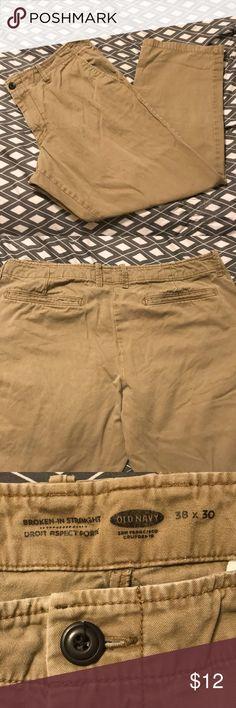 65e9cd67b Men s Old Navy pants! Size 38x30! Men s khaki Old Navy pants size 38x30!