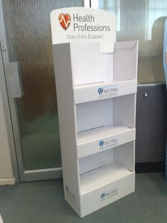 Fantastic FSDU made from cardboard. Make your product stand out! We can design counter top unit for all products, Any size, shape and colour. Find out more at www.kentoninstore.co.uk