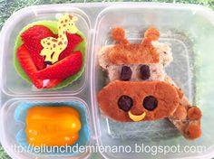 El Lunch de mi Enano: Como hacer un sandwich de jirafa
