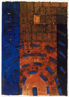 Takahiko Hayashi ~ D-2 (the right piece), 1992 (mixed media)