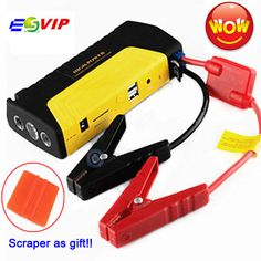 Mobile Portable Mini Jump Starter Car Jumper 12V Booster Power Battery Charger Phone Laptop Power Bank