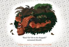 Pixar artist Josh Cooley turns R-rated movies into awesome kids book illustrations