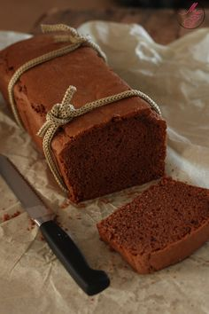 Four quarters chocolate – backen Chocolate Pound Cake, Chocolate Recipes, Pond Cake, Food For The Gods, Cake Chocolat, French Desserts, Sweet Bread, Cupcake Cakes, Cake Recipes