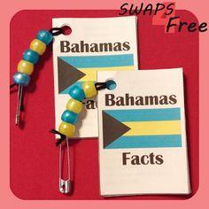SWAPS4Free: Bahamas Fact Book World Thinking Day Girl Scout SWAPS - Free Printable!