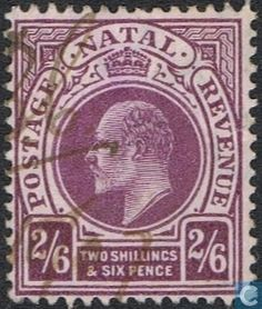 1902  Natal - King Edward VII West Africa, South Africa, King Edward Vii, Kwazulu Natal, Commonwealth, Postage Stamps, British, Tapestry, Country